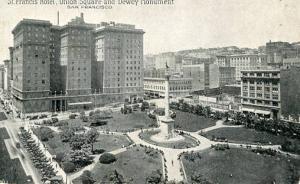 CA -  San Francisco, St. Francis Square & Dewey Monument