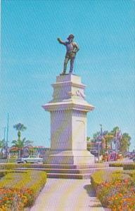 Ponce De Leon Monument and Circle St Augustine Florida