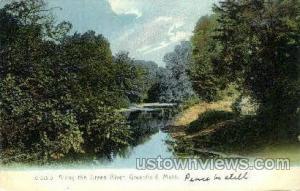 Green River Greenfield MA Writing on back