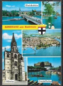 Switzerland, Konstanz am Bodensee, multiview, unused