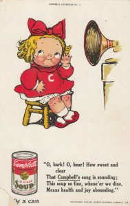 Campbell's Soup , 00-10s ; Girl & Phonograph