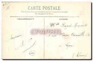 Postcard Old Paysage d & # 39hiver