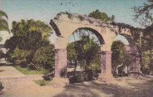 California San Juan Capistrano Broken Arches Inner Patio The Old Mission Hand...