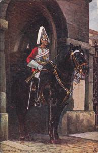 TUCK 3546 ; Mounted Sentry . England , 00-10s