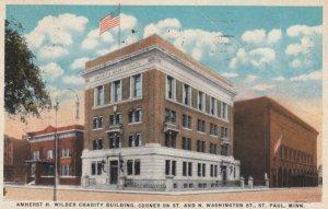 ST. PAUL, Minnesota, 1910s; Amherst H. Wilder Charity Building