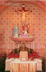 NM, Santa Fe, New Mexico, Saint Francis Cathedral, Main Alter, Petley No. SF-1