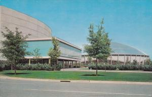 Ovens Auditorium & Charlotte Coliseum, CHARLOTTE, North Carolina, 1940-1960s