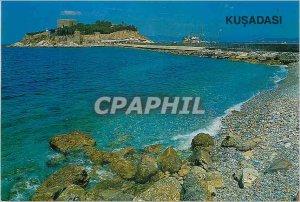 Postcard Modern Turkey A view from Kusadasi