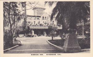 The Entrance Mission Inn Riverside California Albertype