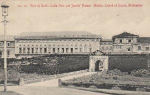 MANILA, Island of Luzon, Philippines, 00-10s; Santa Lucia Gate & Jesuits' Palace