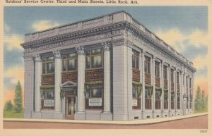 LITTLE ROCK , Arkansas, 1930-40s; Soldier's Service Center