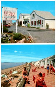 Massachusetts   N.Truro  White Village Cottages on Beach