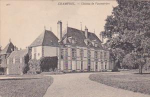 Chateau De Vauventriers, CHAMPHOL (Eure Et Loire), France, 1900-1910s