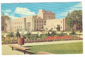 Winnipeg Auditorium and Memorial Park, Winnipeg, Manitoba, Canada, PU_1971