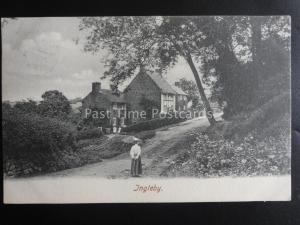 Derbyshire INGLEBY VILLAGE near Swarkstone c1905 Postcard by Hartmann