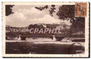 Old Postcard Pretty corners of Lyon In the Loop Bridge