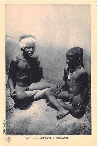 Enfants d'Esclaves Egypt, Egypte, Africa Unused