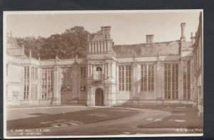 Northamptonshire Postcard - Kirby Hall, South East Side of Courtyard   T252