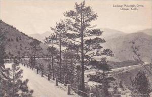 Colorado Denver Lookout Mountain Drive Albertype