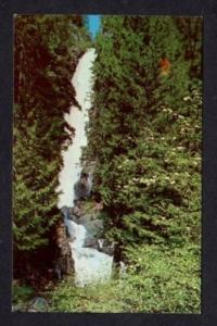 WA Rainbow Falls near STEHEKIN WASHINGTON Postcard PC