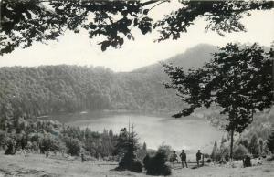 Romania Tusnad lacul Sfanta Ana butterfly stamp