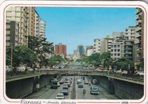Venezuela Caracas Avenida Libertador Street Scene