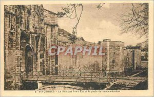Modern Postcard Vincennes The Eastern Front Ramparts and the door of communic...