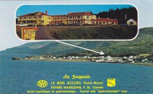 2-Views, La Gaspesie, Le Bon Accueil, Hotel-Motel, Riviere Madeleine, Provinc...