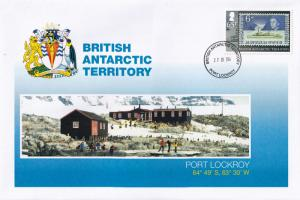 Port Lockroy Research Station British Antarctic Territory Stamp First Day Cover
