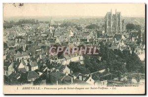 Old Postcard Amiens Panorama taken from Saint Jacques Saint Vulfran