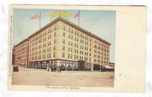 The Savoy Hotel, Denver, Colorado, 1900-1910s