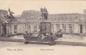 GRUSS AUS BERLIN, Germany, 1900-1910´s; National Kenkmal
