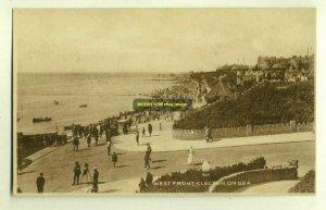 tp2755 - West Front , Clacton-on-Sea , Essex - postcard
