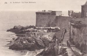 SAINT MALO, Ille Et Vilaine, France, 1900-1910´s; La Tour Bidouane