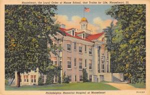 Mooseheart IL~Loyal Order Moose School~Philadelphia Memorial~Hospital~1940 PC