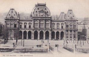 LE HAVRE, Seine Maritime, France, 1900-1910s; The Exchange