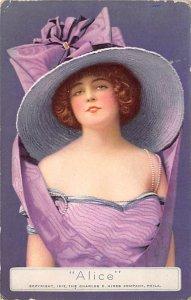 Advertising Post Card Alice, Charles E Hires Company Philadelphia, PA, USA Wr...