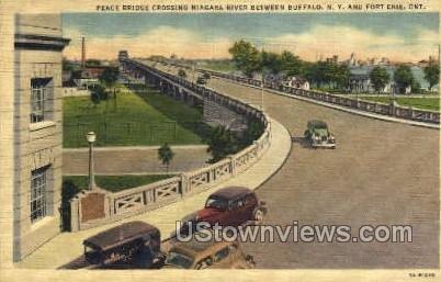 Peace Bridge in Buffalo, New York