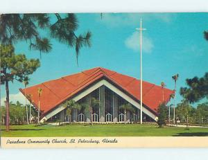 Pre-1980 CHURCH SCENE St. Saint Petersburg Florida FL p4390