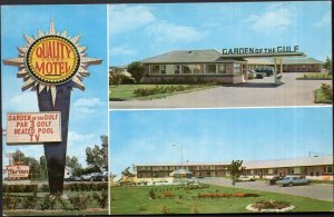 Prince Edward Island SUMMERSIDE Garden of the Gulf Court and Motel pm1964