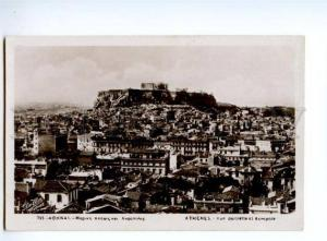 132739 GREECE ATHENES Acropole view Vintage photo postcard