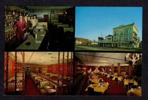 OH Mazza's Restaurant MOUNT VERNON OHIO Postcard PC