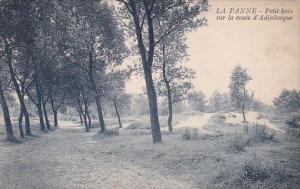 Belgium La Panne Petit bois sur la route d'Adinkerque