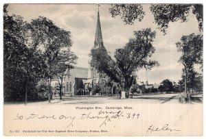 Cambridge, Mass, Washington Elm