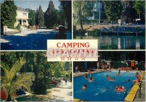Postcard Moderne Vichy Bellerive (Allier) Tourist Camping International