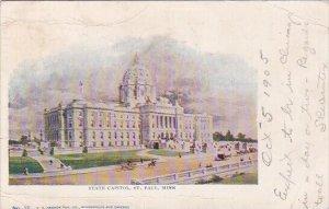 Saint Paul Minnesota State Capitol 1905