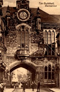 Wales - The Guildhall at Carnavon Castle - c1915