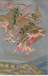 NEW YEAR, 1900-10s; Bells & Angels