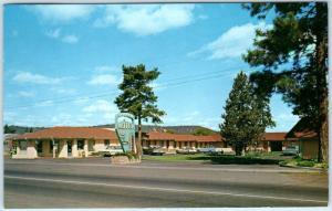 BEND, Oregon  OR   Roadside  RAINBOW MOTEL  1964   Postcard