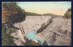 Glen Iris Canyon Letchworth Park Castile NY unused c1920's